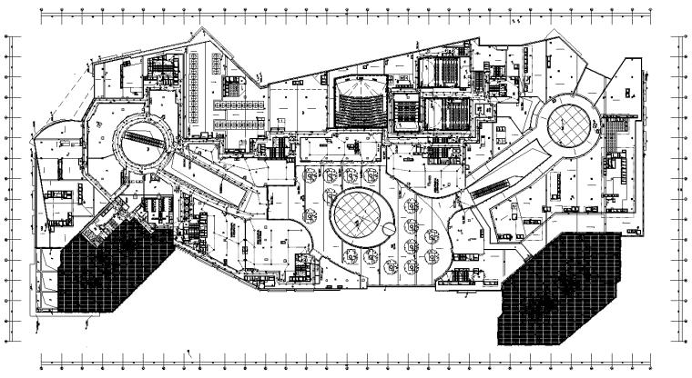 厦门特大型商业及高层办公电气施工图