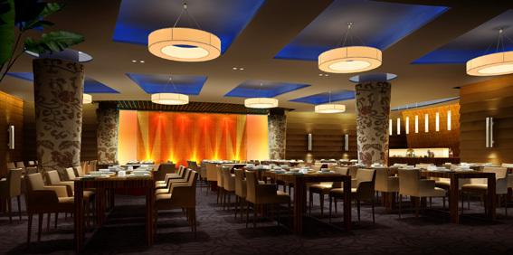 12石餐厅效果图