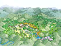 [一键下载]11套田园综合体总体规划方案