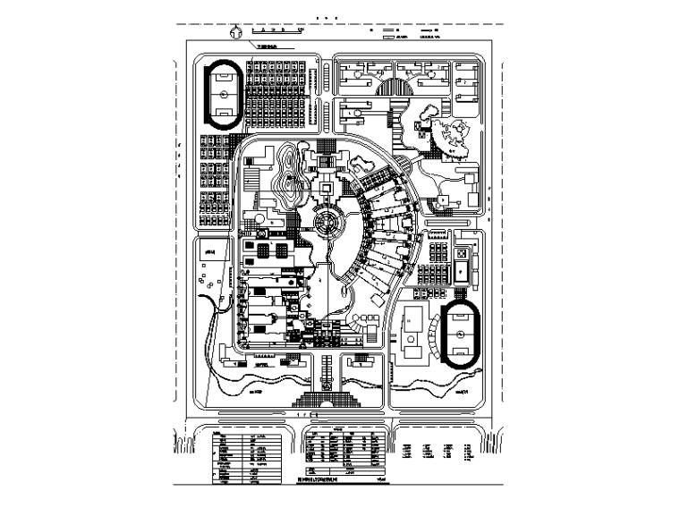 大学校区总平面图规划设计2