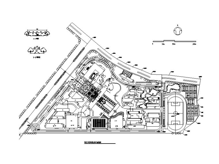 大学校区总平面图规划设计3