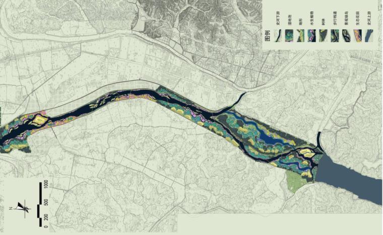 河道总平面图
