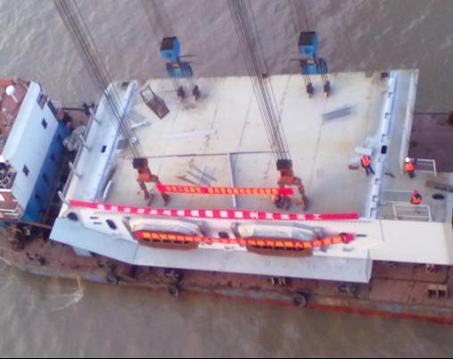 斜拉桥刚性铰安装施工工法及应用