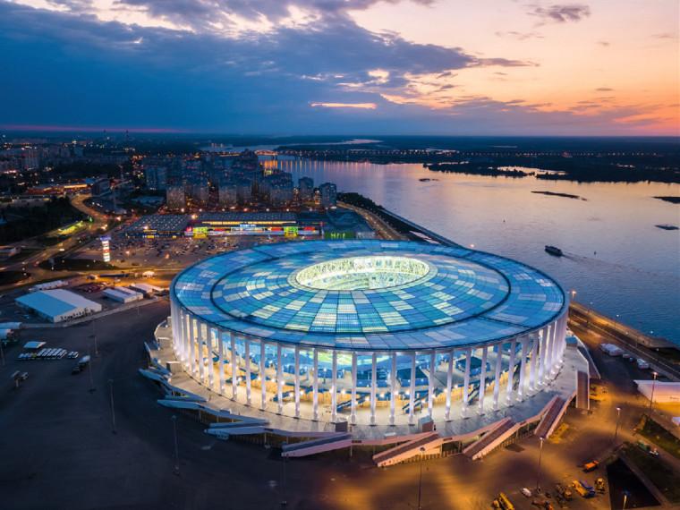 俄罗斯下诺夫哥罗德体育场