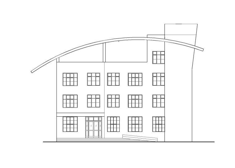 小型汽车站设计建筑施工图(CAD)