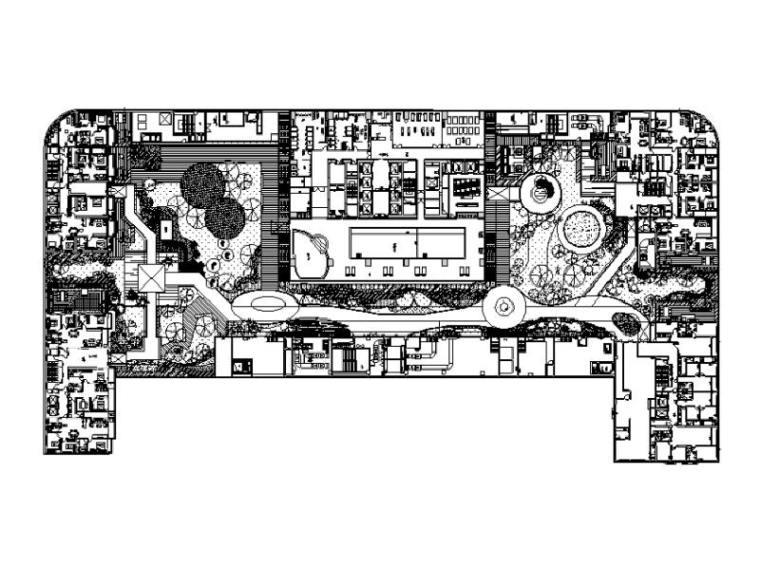南京林业大学广场设计资料下载-山东商业综合广场景观设计图纸及图纸预算