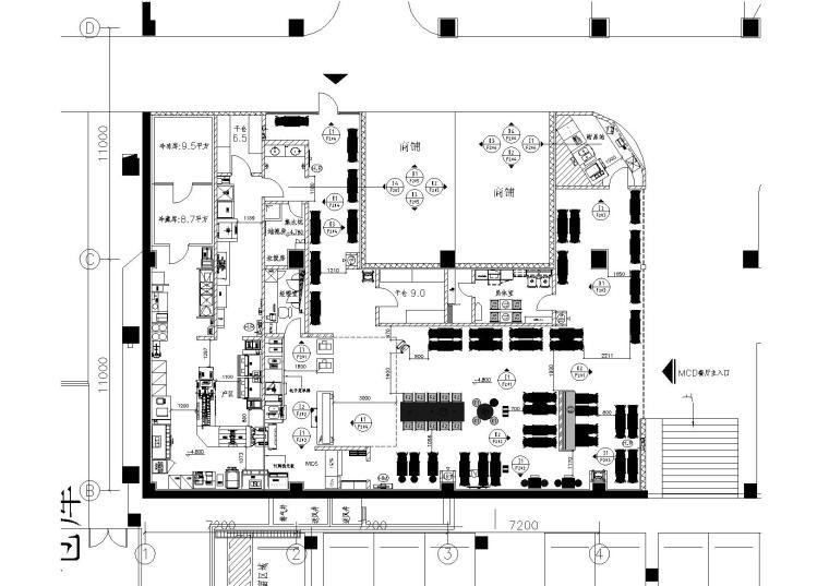 施工图 项目位置:湖北 设计风格:现代风格 图纸格式:jpg,天正7,cad图片