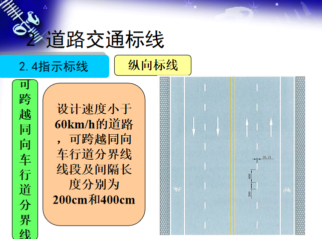 道路交通标线及交通信号设计讲解(400余页)-纵向标线