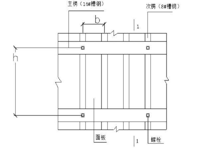 混凝土挡墙模板专项施工方案