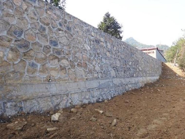 路基墙砌片石挡土墙施工方案