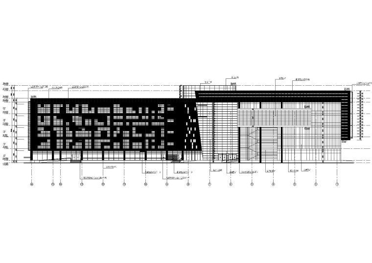 建筑北立面图