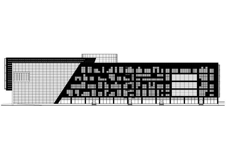 建筑南立面图