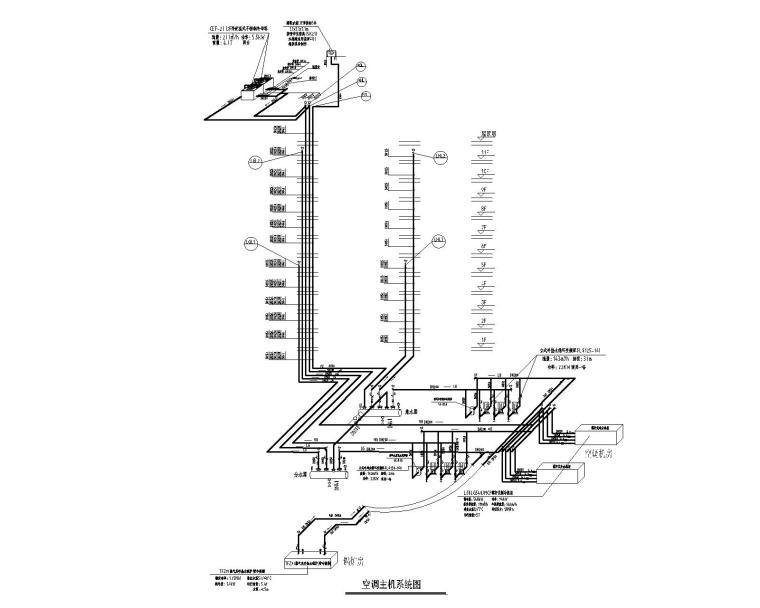 空调主机系统图