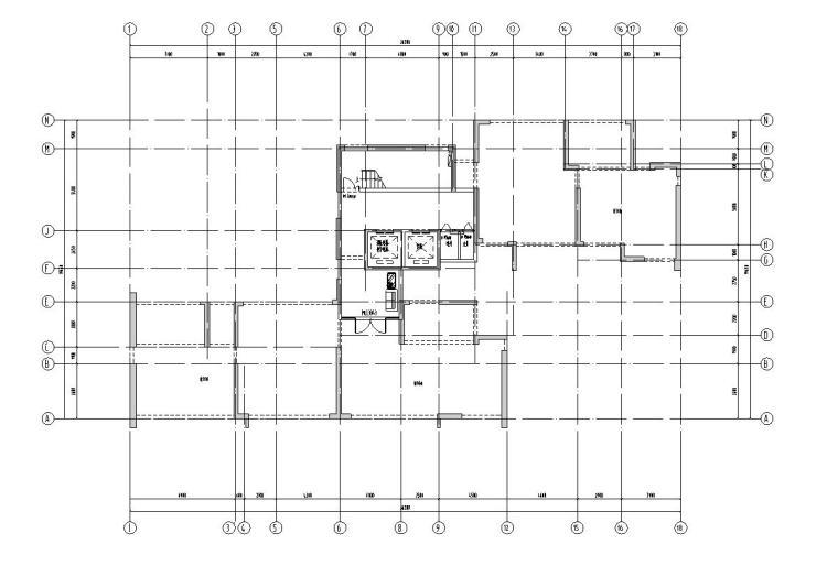 新古典风保利户型140-140-115㎡户型图设计