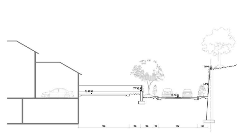 景观剖面图2
