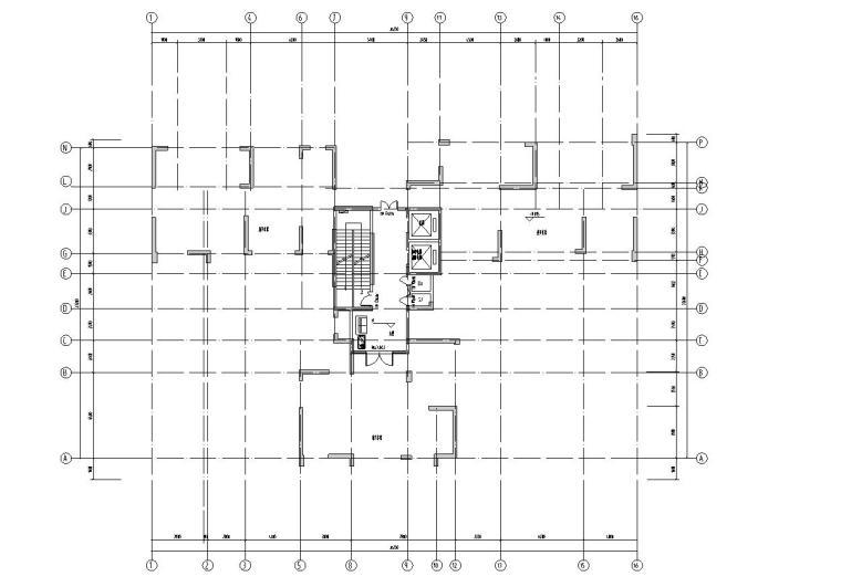 新古典风格保利户型1梯3户型图设计-2018年