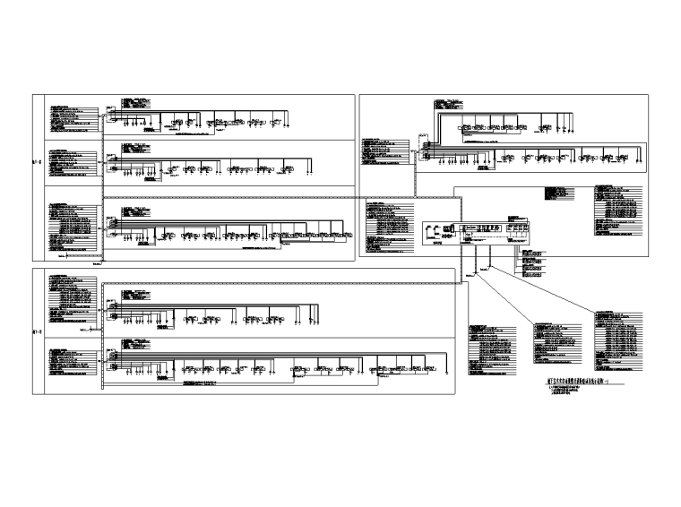 吉林大型商业广场电气施工图(全专业)