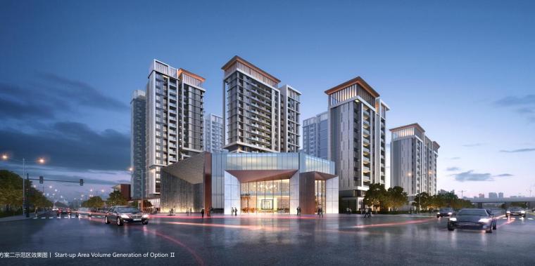[广东]现代风格高层住宅中标方案设计