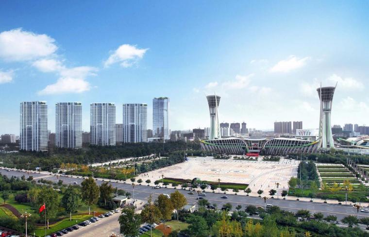 [山东]现代风格国际高层豪宅建筑方案设计