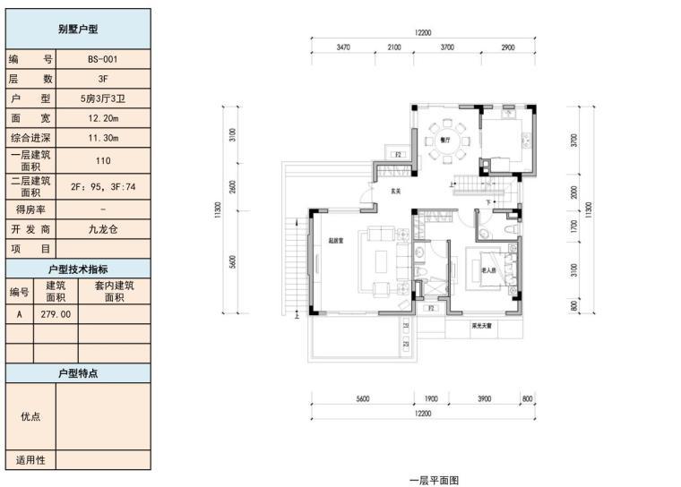 2019年宝龙户型库(二)参考户型设计-107p