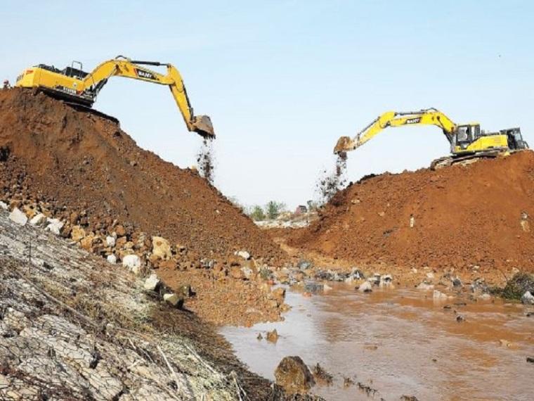 小二型水库大坝加固与施工导流方案