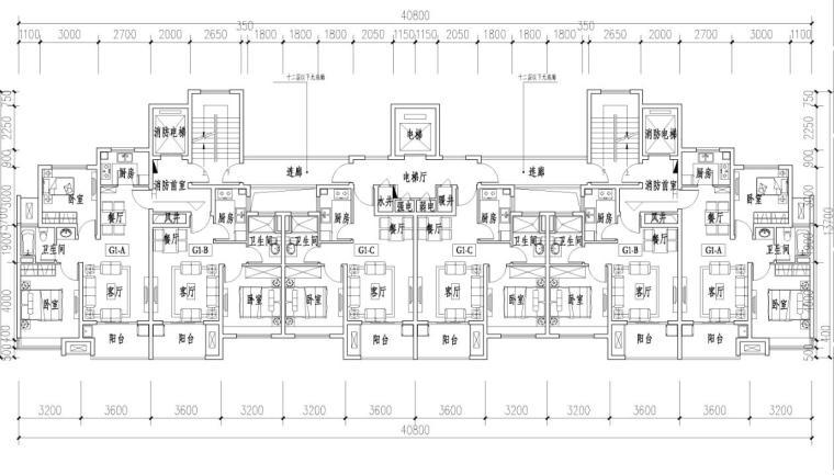 宝龙住宅标准户型设计 (9)