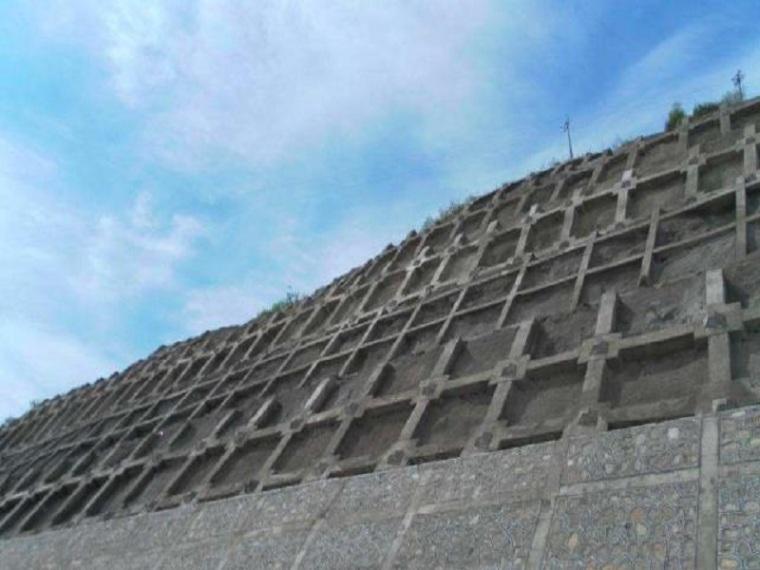 边坡锚杆框架防护施工方案