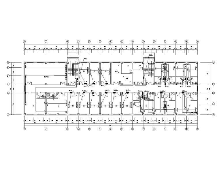 吉林二层厂房综合楼电气施工图