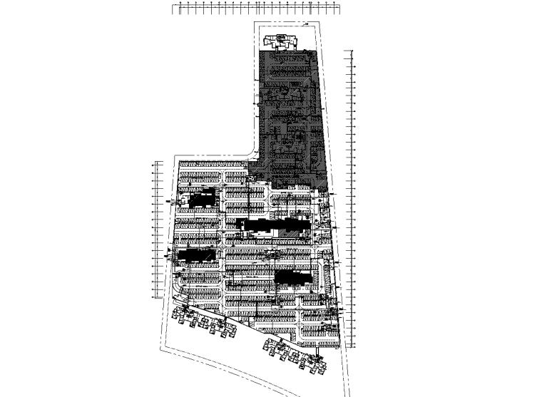 三十二层住宅楼给排水及电气施工图