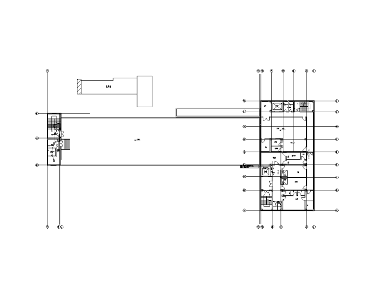 五层住院楼电气施工图(含建筑,给排水)