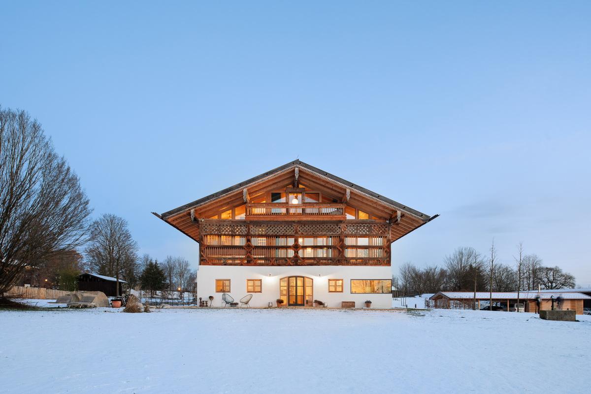 木结构丨中世纪谷仓改造