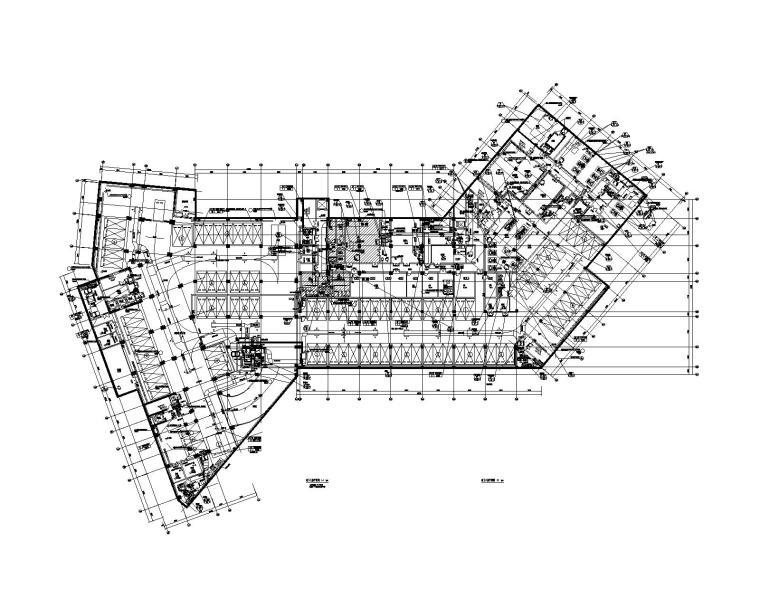 某大型住宅酒店空调通风及防排烟设计施工图