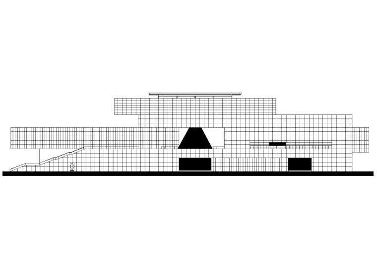 [河南]旅游服务中心建筑工程项目施工图