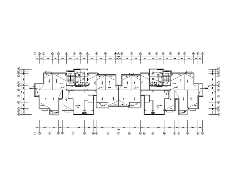 十七层住宅楼工程电气施工图