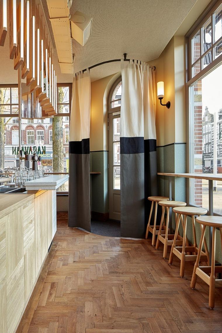遍览阿姆斯特丹的景色,Karavaan餐厅设计!_3