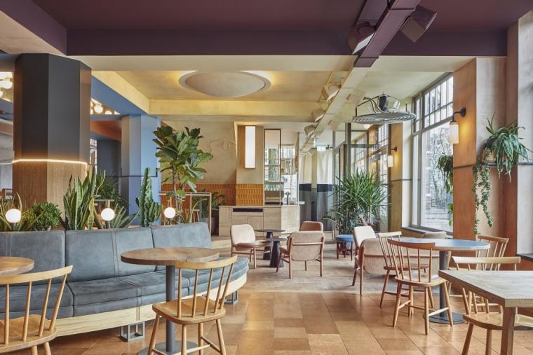 遍览阿姆斯特丹的景色,Karavaan餐厅设计!_6