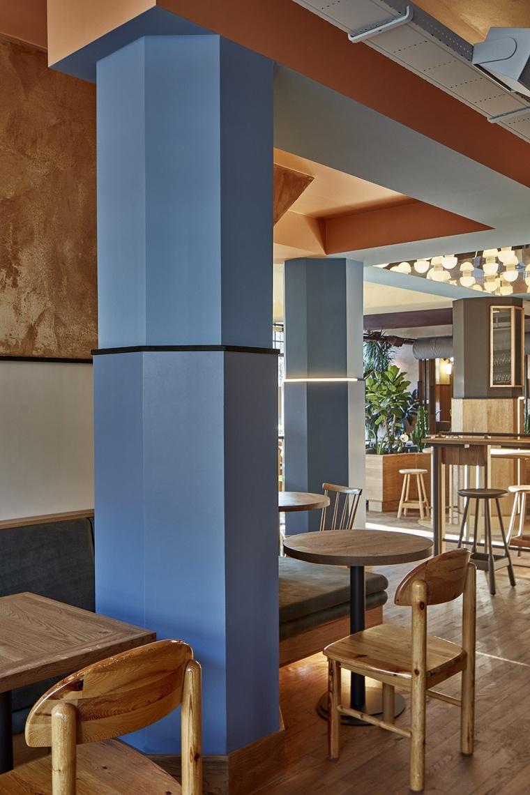 遍览阿姆斯特丹的景色,Karavaan餐厅设计!_12