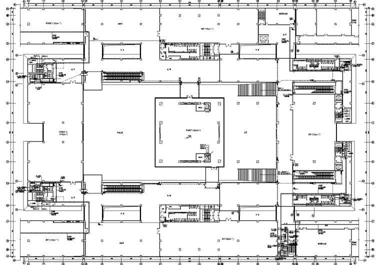 河南某博物馆建筑全套施工图纸