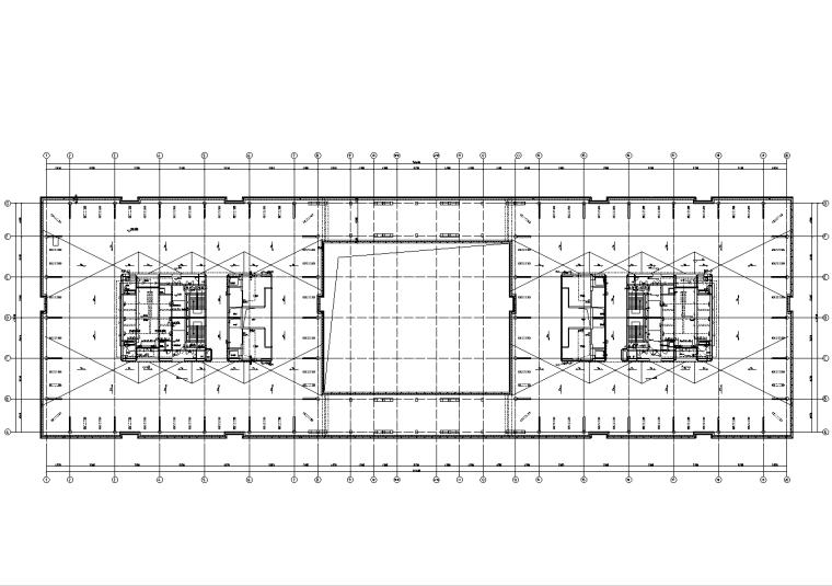 北京17层棚户区改造机电施工图