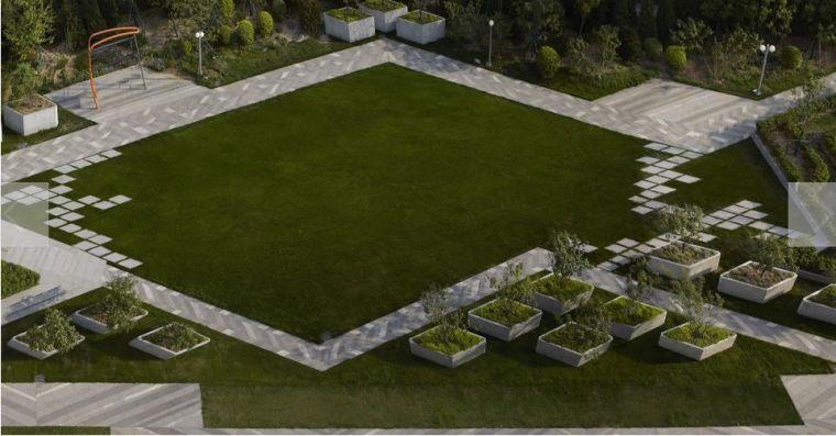 居住区景观设计要点解析&附150套居住区方案_15