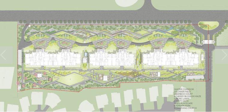 居住区景观设计要点解析&附150套居住区方案_13