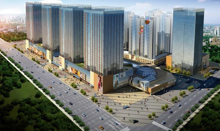 [唐山]商业中心广场景观环境设计方案