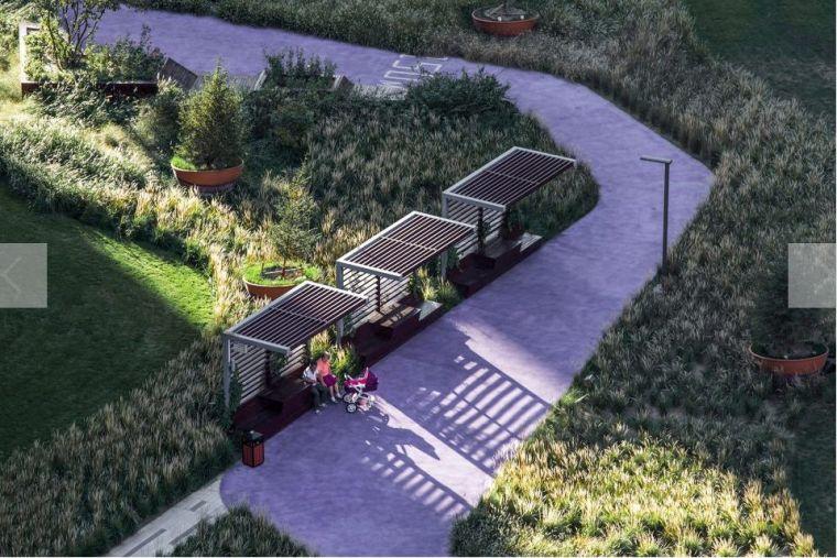 居住区景观设计要点解析&附150套居住区方案_18