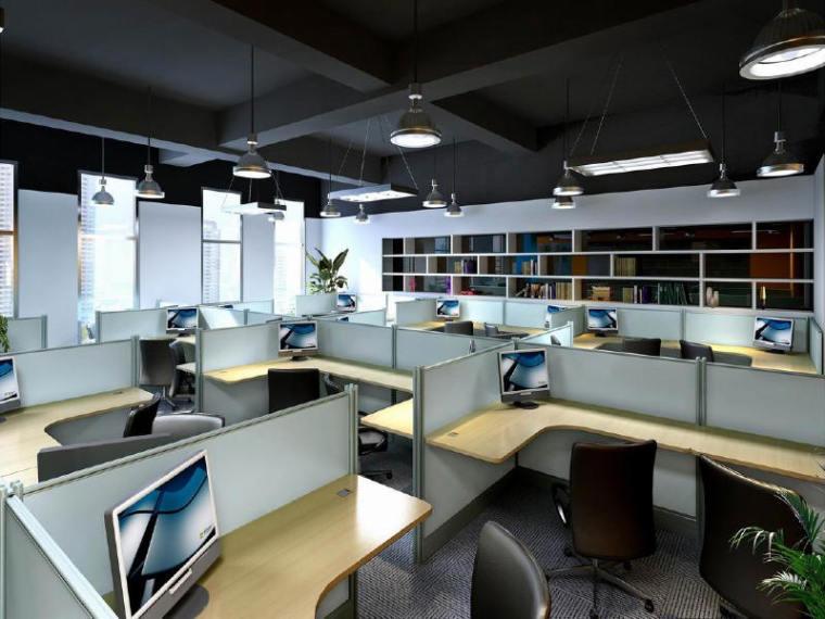 办公用房装修工程图纸含清单及招标文件