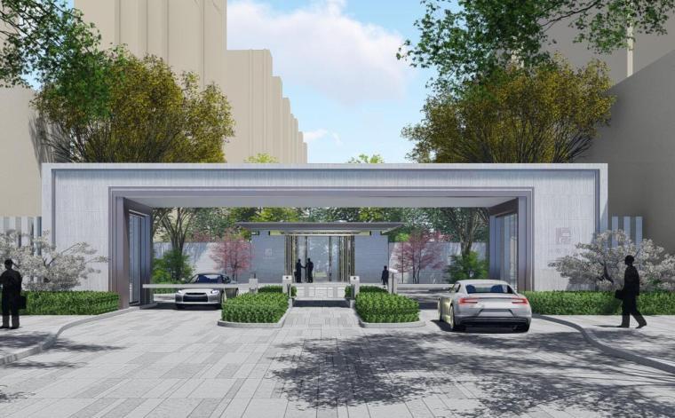 [浙江]东阳新中式风格大区住宅景观方案