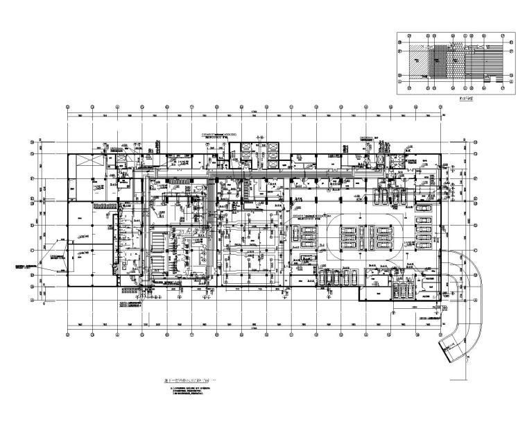 [奉节]中医院给排水消防喷淋设计施工全套图