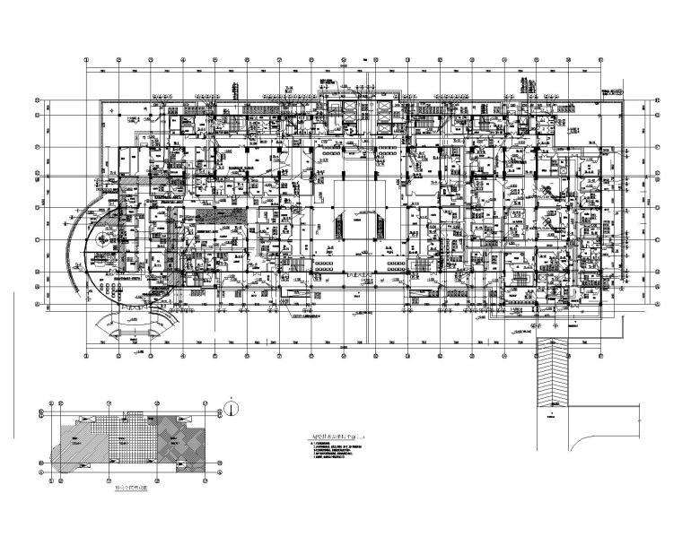 一键下载_10套医院给排水及消防喷淋设计图