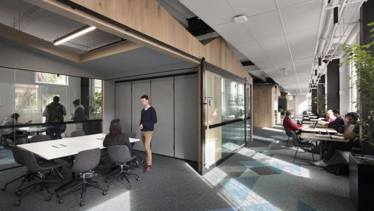 将工程学作为展品,墨尔本大学研讨共享空间_7