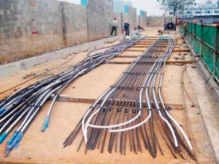 边坡预应力锚索框架梁支护工程施工方案