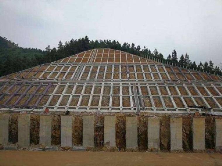 高边坡锚杆框架防护专项施工方案